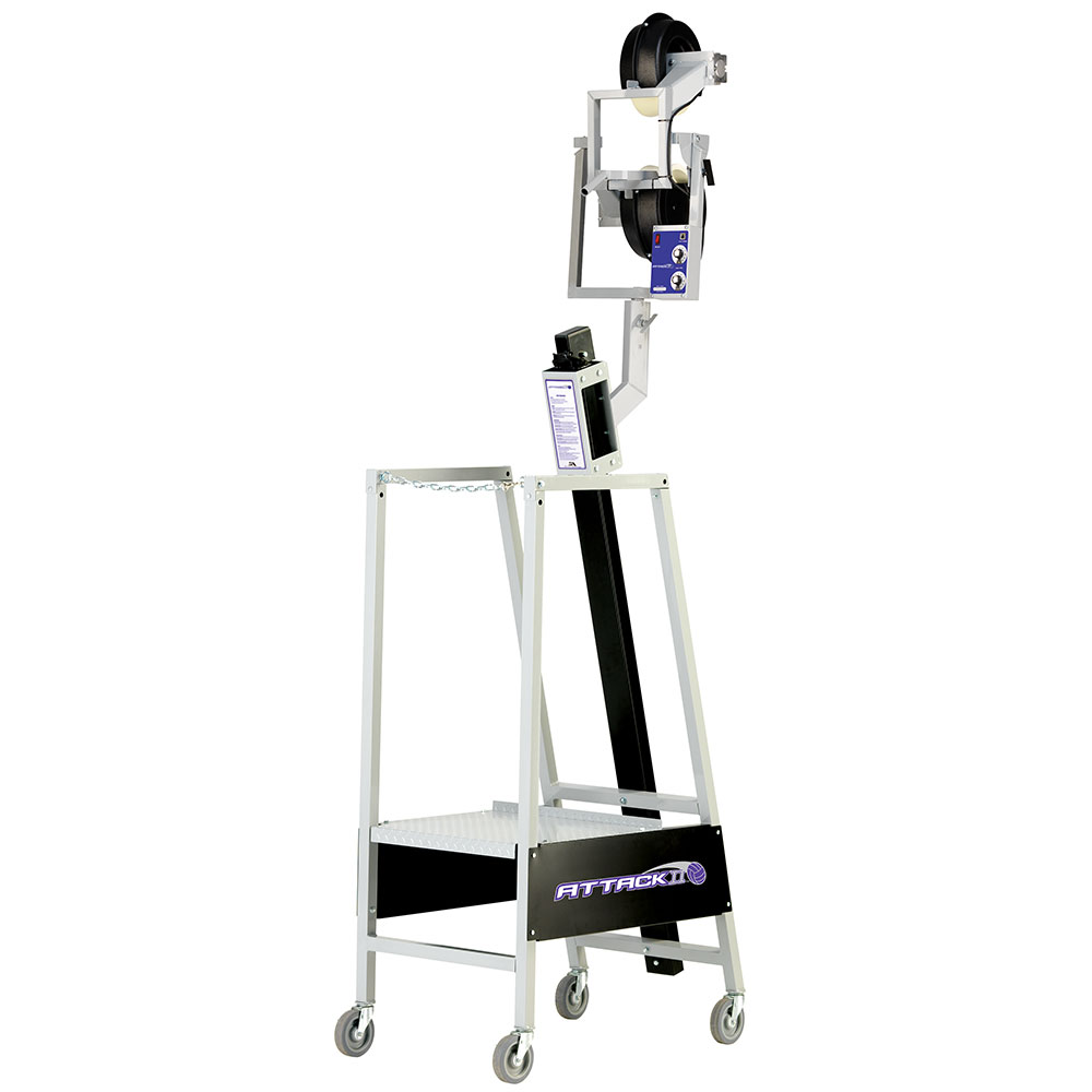 sports attack attack ii volleyball machine includes 1 ball bag and frame. Black Bedroom Furniture Sets. Home Design Ideas