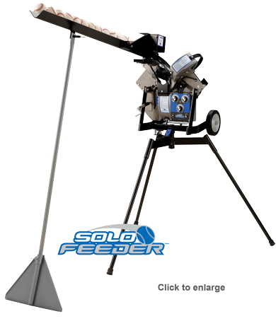Pitching Machine Ball Feeder